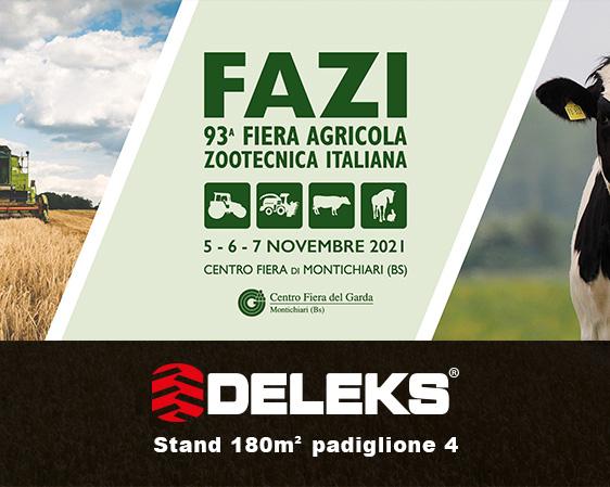 93° fiera agricola zootecnica italiana stand
