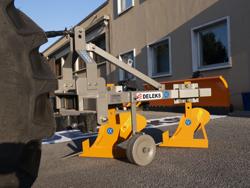 aratro bivomere con ruotino per trattore tipo carraro mod ddp 30
