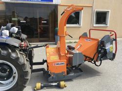 cippatrice a disco idraulica professionale per trattore produzione di cippato mod dk 1800