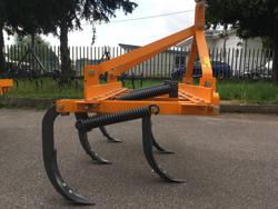 estirpatore coltivatore a 5 denti largo 120cm per trattore tipo antonio carraro mod de 120 5