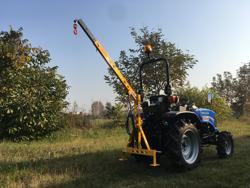 braccio idraulico per trattore per sollevamento mod el 200