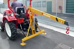 gru idraulica braccio di sollevamento per trattore agricolo mod el 500