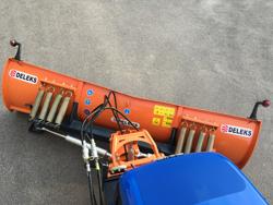 lama sgombraneve 220cm a piastra serie media per trattore ln 220 a