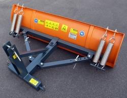 lama sgombraneve 150cm serie leggera attacco a 3 punti per trattori mod lns 150 c