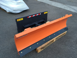 sgombraneve serie leggera per minipala mod lns 130 m