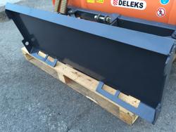 sgombraneve 150cm serie leggera per minipala tipo bobcat mod lns 150 m