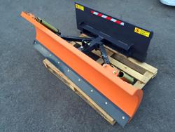 sgombraneve 170cm serie leggera per minipala tipo caterpillar mod lns 170 m