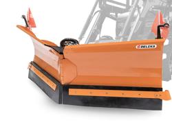 vomere sgombraneve 250cm per caricatore frontale del trattore mod lnv 250 e