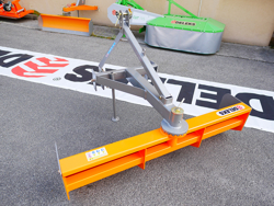 lama livellatrice 110cm per trattore tipo kubota mod dl 110