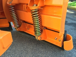 vomere frontale 200cm lama spazzaneve per trattore mod lnv 200 c