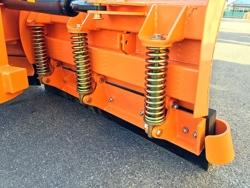 vomere frontale 220cm sgombraneve per trattore mod lnv 220 c