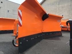 vomere frontale 315cm serie pesante sgombraneve per trattore mod lnv 315 c