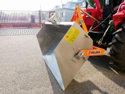 pala ribaltabile per trattore tipo goldoni 140cm per carico e trasporto mod prm 140 l