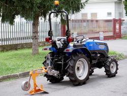 aratro singolo per trattori tipo kubota o iseki mod dp 16