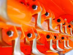 trincia a mazze reversibile per trattori tipo antonio carraro mod rino 180 rev