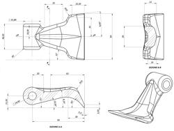 trinciasarmenti spostabile per trattrici serie media da vigneto mod tigre 160