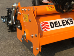 fresa interrasassi professionale 115cm di lavoro utile con rullo per trattore mod dfu 120