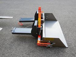 pala ribaltabile da 1 metro per muletto carrello elevatore mod prm 100 lm