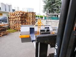pala caricatrice per carrello elevatore larga 120cm prm 120 lm