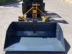 pala rinforzata da 140cm con attacchi a muletto per carrello elevatore mod prm 140 hm