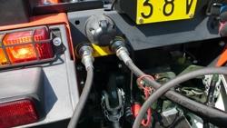 pala bilanciata rinforzata con ribaltamento idraulico per trattore larga 160cm mod pri 160 h