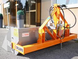pala idraulica per trattore con benna rinforzata da 180cm e attacco 3 punti mod pri 180 h