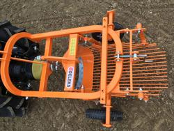 scavapatate e tuberi per trattore ranca patate mod dpt 120