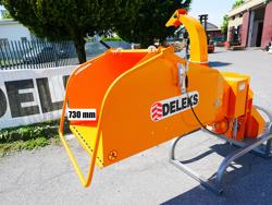 cippatore a disco per trattore per la produzione di cippato mod dk 1200