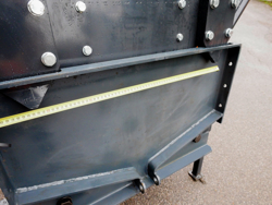 sgombraneve frontale attacco a piastra per trattore o camion mod ssh 04 2 2 a