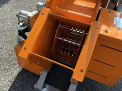 biotritturatore a cardano per trattore cippatrice idraulica per la produzione di cippato mod dk 1300