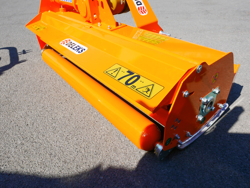 trincia a mazze per trattore 185cm di taglio serie media mod leopard 180