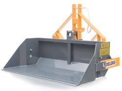 pala rinforzata 140cm per trattore con ribaltamento meccanico mod prm 140 h