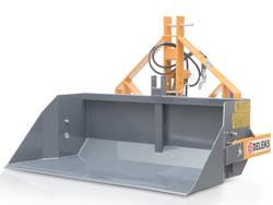 pala ribaltabile rinforzata per trattore da 140cm ribaltamento idraulico mod pri 140 h