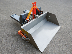 pala a ribaltamento idraulico serie leggera con attacchi a muletto mod pri 140 lm