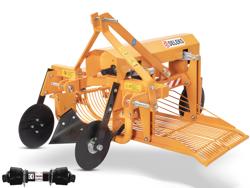 scava patate e tuberi per trattore scarico laterale mod dpt 150