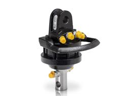 rotore idraulico da 10qli lombarda ingranaggi per pinza per legna mod gr10