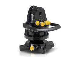 rotore idraulico da 30qli lombarda ingranaggi per pinza per tronchi gr30f