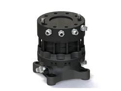 rotore 45qli lombarda ingranaggi per pinza da legna e attacco rapido mod gr55ff