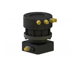 rotore idraulico da 30qli lombarda ingranaggi per pinza per tronchi e attacco rapido mod gr30ff
