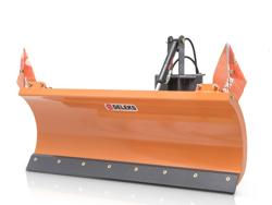 sgombraneve 150cm a piastra serie leggera per trattore mod lns 150 a