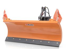 sgombraneve 210cm a piastra serie leggera per trattore mod lns 210 a