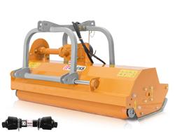 trinciatutto a mazze reversibile e spostabile idraulicamente per vigneto mod rino 140 rev