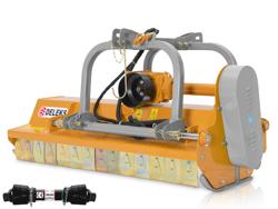 trinciatrice a mazze con spostamento idraulico per trattrice mod rino 200