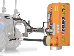 trincia argini a mazze leggera polivalente per trattore mod volpe 100