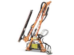 braccio decespugliatore idraulico con barra falciante potasiepi per trattore mod falco 130