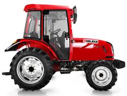 trattore agricolo 50cv omologato 4 ruote motrici e cabina