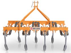 estirpatore per trattore larghezza 169cm a 7 ancore tiller per la lavorazione del terreno mod de 165 7