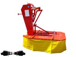 falciatrice rotante a 2 tamburi per trattore dfr 135