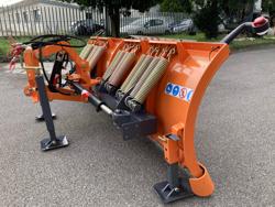 pala da neve 250cm a piastra serie media per trattore mod ln 250 a