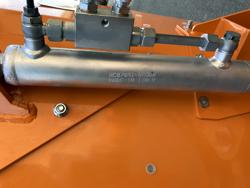 trincia argini a mazze leggera polivalente per trattore mod volpe 120